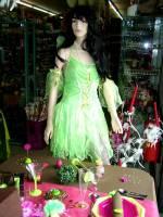 déguisement fille fée verte